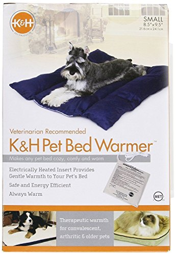 K&H Pet Bed Heated Warmer Dog Cat Kitty Electric Pad Heater Indoor Heating Mat