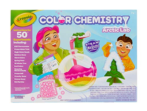 Arctic Color Chemistry Set is a cool new toy for girls and boys