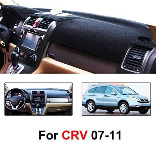 Reduce Hazardous Windshield Glare AutoTech Zone Dashboard Protector Dash Mat Sun Cover for 2012-2015 Honda CR-V