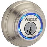Weiser 9GED15000-002 Kevo GED1500 KEVO Bluetooth Enabled Deadbolt, Satin Nickel