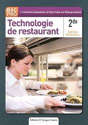 Technologie de restaurant 2e bac pro commercilaistion et services en restauration csr - Technologie cuisine bac pro ...