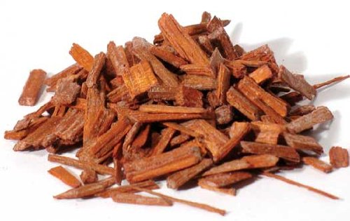 New Age Red Sandalwood chips 1oz 1618 gold