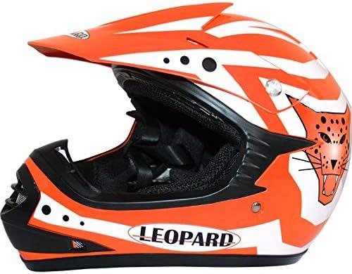 * Oferta combo Conjunto Leopard LEO-X17/de casco guantes y gafas de motocross para ni/ños.