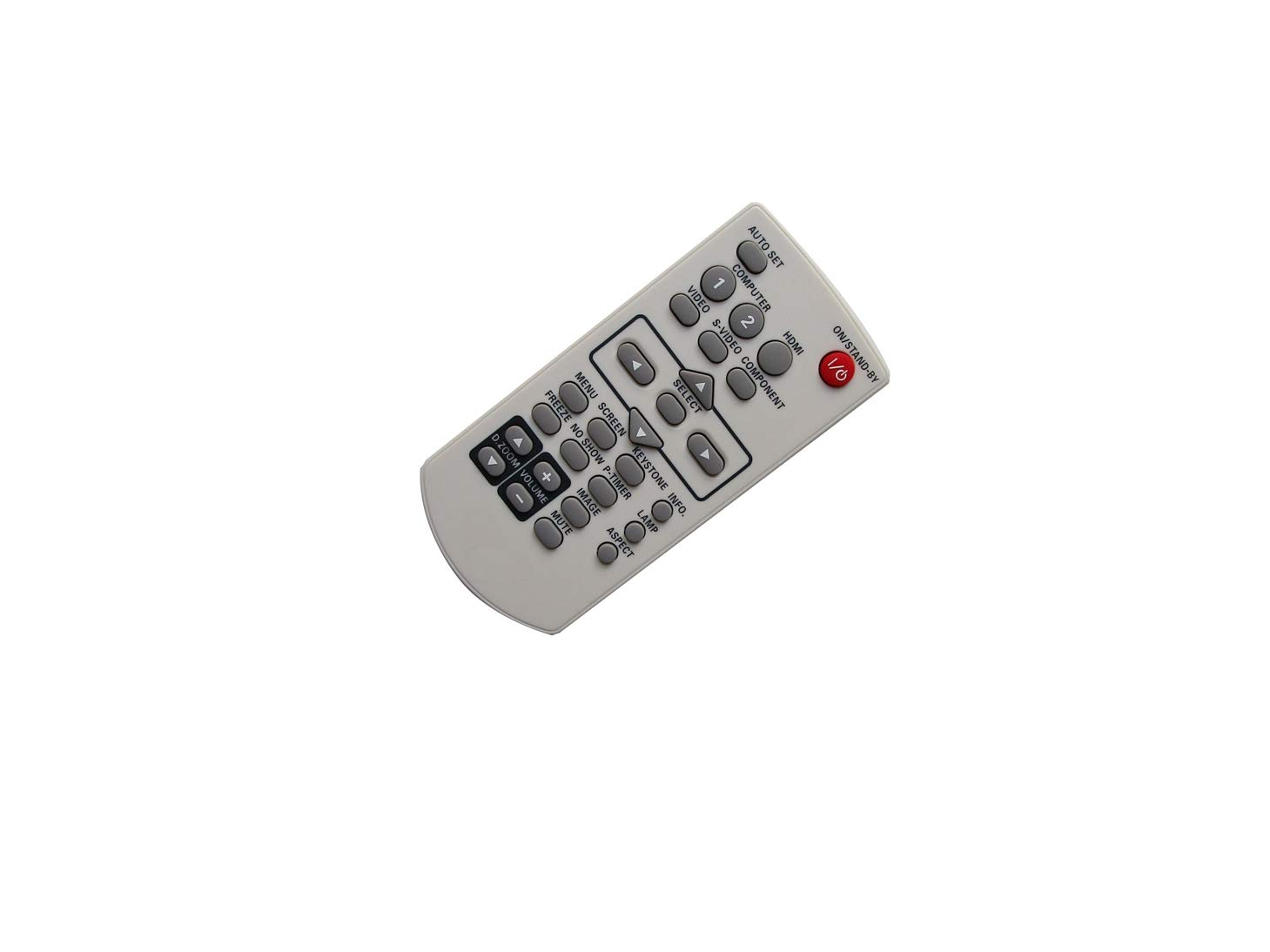 Hotsmtbang Replacement Remote Control for Eiki LC-XBL20 LC-XBL25 LC-XBL30 LC-XBL26 LC-XBL21 XGA Conference Room 3LCD Projector