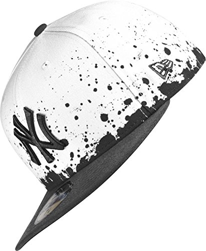 A NEW ERA York Yankees - Cap - Panel Splatter - White/Black White