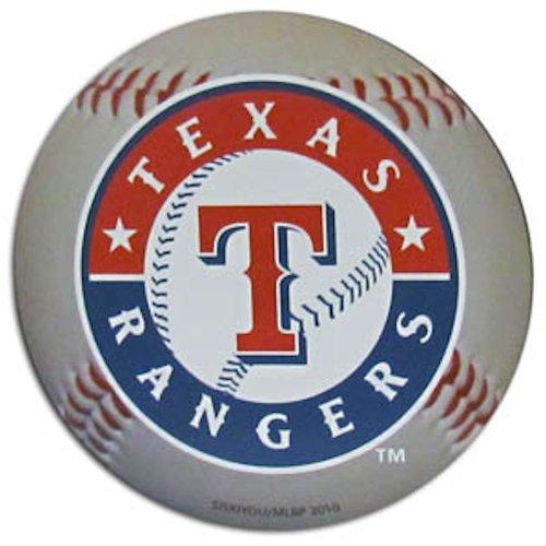 MLB Texas Rangers 3-Inch Baseball Magnet (Team Magnet Rangers Texas)