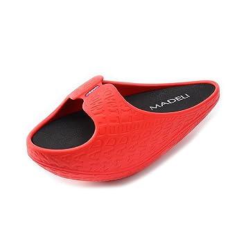SHANGXIAN Stovepipe Adelgazar Pierna Belleza pie EVA Body Shaper Zapatillas Sandalia Fitness de Las Mujeres Post-Parto tonificación Zapatos: Amazon.es: ...