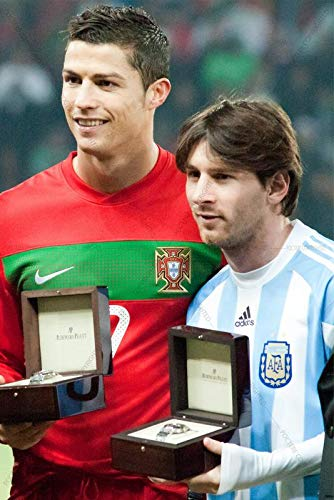 postere messi and cristiano ronaldo kings national team poster fanart 12 x 18 inches fc barcelona juventus number 7 and 10 amazon in home kitchen postere messi and cristiano ronaldo