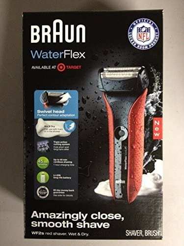 Braun Waterflex WF2s Red by Braun: Amazon.es: Salud y cuidado personal