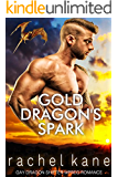 Gold Dragon's Spark: MM Gay Dragon Shifter Mpreg Romance