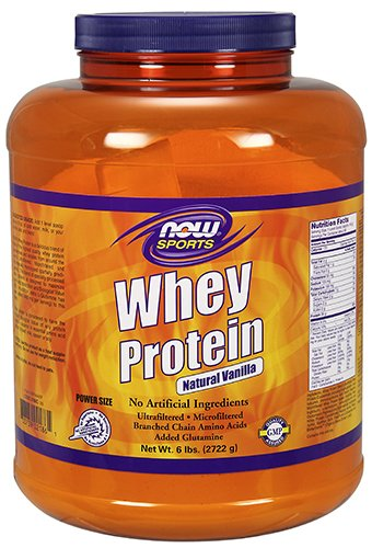 NOW Foods - Whey Protein Vanilla - 6 lbs.