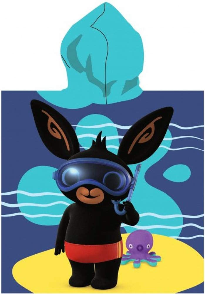 Poncho infantil con capucha SETINO 821-570 Bing 55 x 80 cm