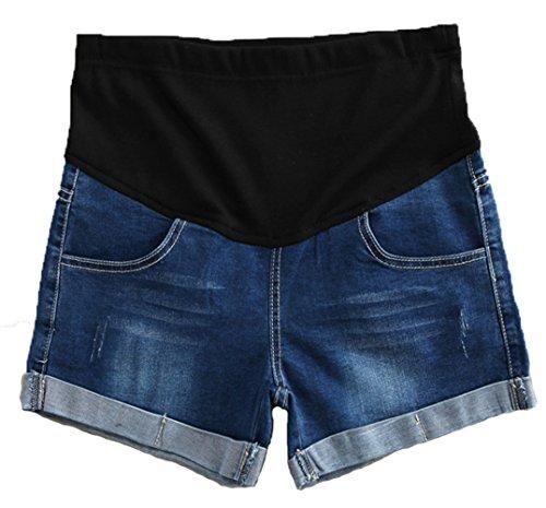 Woman Maternity Denim Shorts - 1