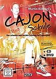 Martin Röttger's Cajon Schule (mit CD + DVD): Der schnelle und leichte Einstieg ins Cajonspiel