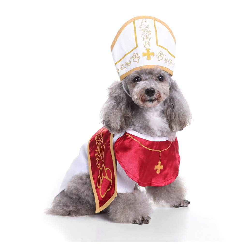 9 Medium 9 Medium Christmas Halloween Pet Dog Cosplay Costumes Clothes Dresses