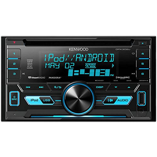 Kenwood DPX302U 2 DIN Receiver Inputs