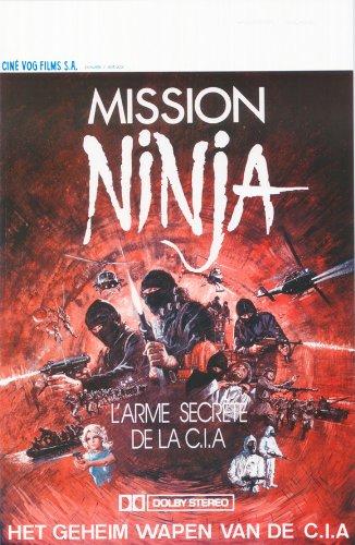 Póster de película el Ninja Mission Belgian 11 x 17 en - 28 ...