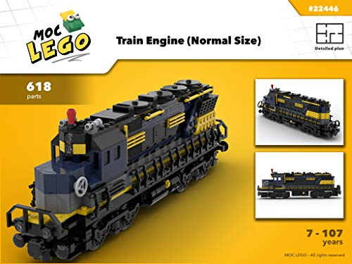 Amazon com: Train engine (Normal end size) (Instruction Only