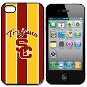 NCAA USC Trojans Iphone 4 and 4s Case Cover