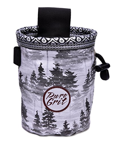 Pure Grit Sub Alpine Rock Climbing Chalk Bag (USA made) by Pure Grit