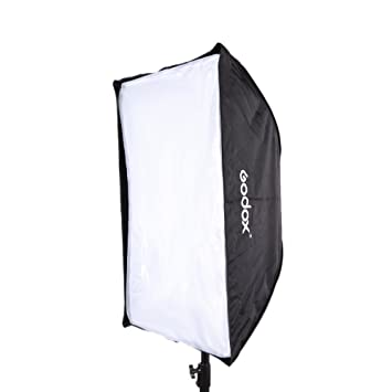 Godox 60 * 90 cm Paraguas Softbox Reflector Caja de luz Portatil para flash