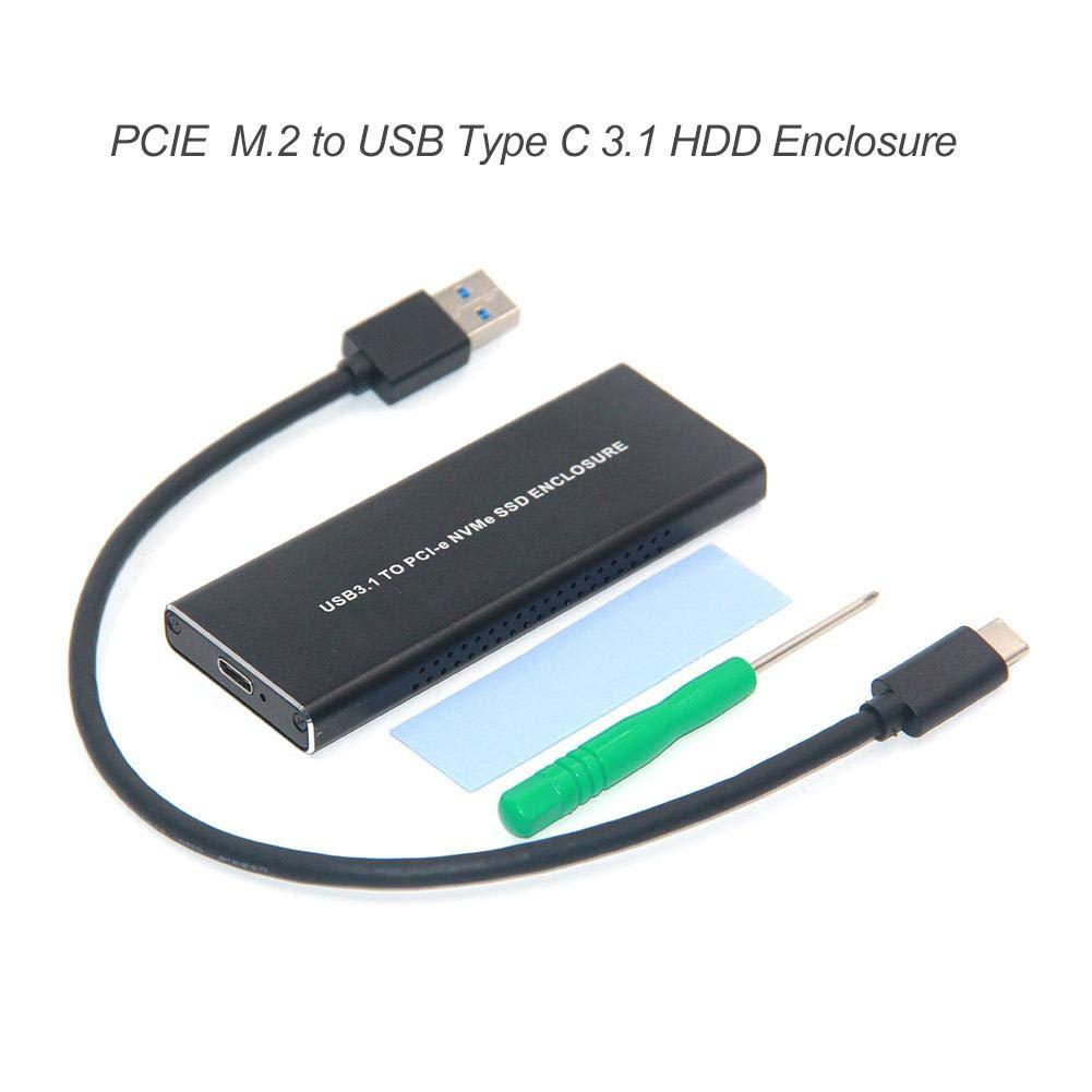 likeitwell Carcasa Disco Duro USB 3.1, Caja Disco Duro ...