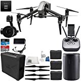 DJI Inspire 2 Quadcopter Premium Combo w/ Zenmuse X5S Camera & CinemaDNG & Apple ProRes Licenses Essential Bundle
