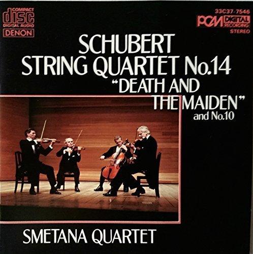 String Quartet No. 14 in D minor, D.810; String Quartet No. 10 in E flat, D.87, finale only, Allegro -