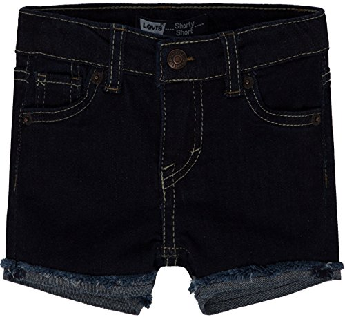 Levis Girls Denim Shorty Shorts