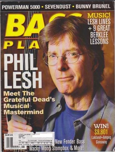 Bass Player Magazine (June 2000) (Phil Lesh - Meet The Grateful Dead's Musical Mastermind) ()