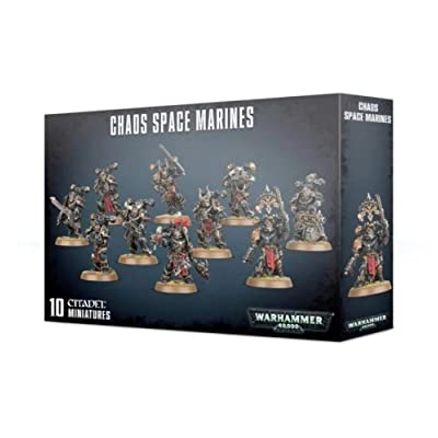 Games Workshop Chaos Warhammer 40,000 Space Marines: Arts, Crafts & Sewing