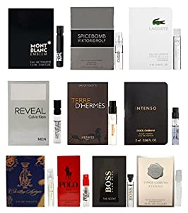 10 Mens Cologne Sample Vials All High End from Cologne
