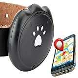 GPS Pet Tracker & Activity Monitor Intelligent 5 Level Positioning System Without Monthly Fee IP67 Deep Waterproof Pet & Rare Animal Searcher Locator Automatic Trajectory Tracking Anti-lost Alarm
