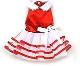 Cheap XINGYU Satin Stripe TUTU Dress, Red, X-Large