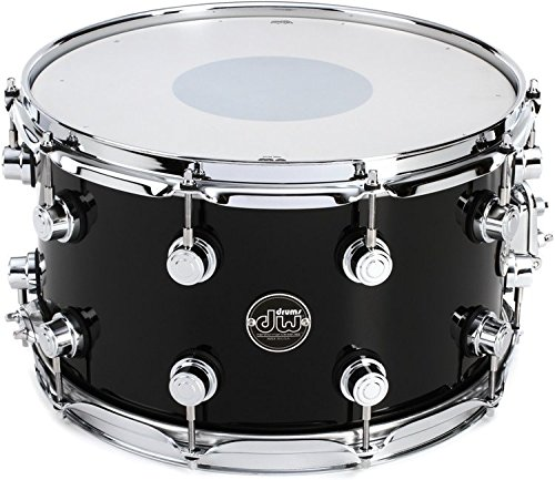 DW Performance Series Snare Drum 8x14 - Gloss Black Finish Ply