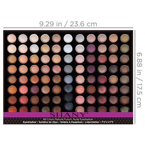 SHANY Natural Fusion – 88 Color Eye shadow Palette – Nude