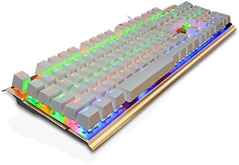 qinqin 104 teclas teclado mecánico eje verdes Fondo Gaming de ...