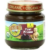 12-Pack Earth's Best Organic Prunes 2.5oz Jar