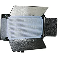 ePhotoInc Portable 500 LED Light Panel Photo Video Studio Portrait Dimmer Lighting Panel VL500SD