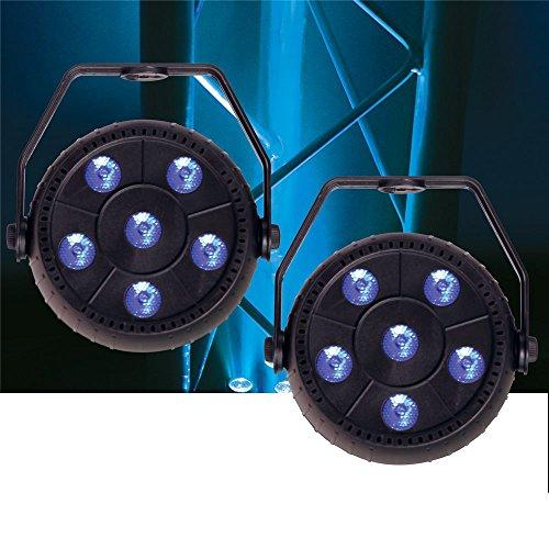 Solena Mini Par 9 9-Watt RGB LED Wash Light (Rgb Wash)