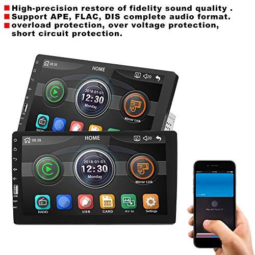 Car MP5 Player, 9inches HD Single Din Car Radio Stereo WiFi Bluetooth MP5 Player 9008 Black
