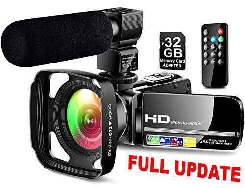 Ultra HD Video Camera Camcorder...