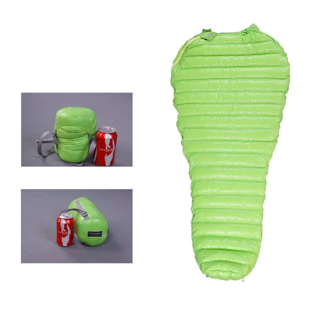 NewDoar Urltra-Light Goose Sown Sleeping Bag Spring Autumn Urltra-compactable Sleeping Bag Mummy Sleeping Bag