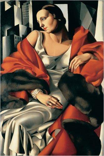 Portrait de Madame Boucard by Tamara De Lempicka Giclee Art Print Poster