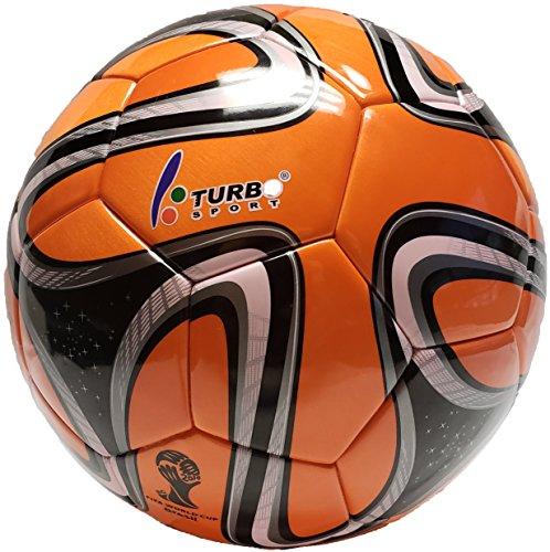 Turbo Sport FIFA 2014 Brazuca Soccer Ball Replica Orange for sale  Delivered anywhere in USA