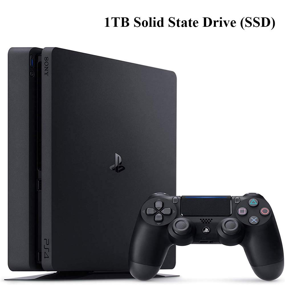 NexiGo Playstation 4 Slim PS4 - Consola SSD de 1 TB con ...