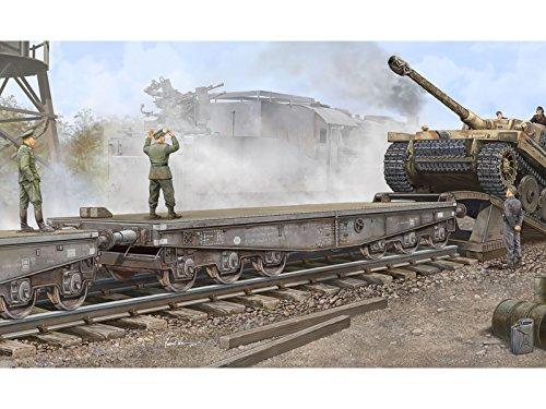 (Trumpeter 00221 1/35 Schwere Plattformwagen Type SSyms 80)