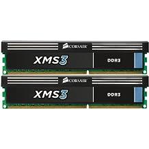 Corsair XMS3 8 GB 1333 MHz PC3-10666 240-Pin DDR3 Memory Kit, CMX8GX3M2A1333C9