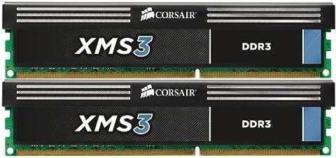 Corsair XMS3 8 GB (2 x 4GB) 1333 MHz PC3-10666 240-Pin DDR3 Memory Kit 1.5V - Maximus Formula