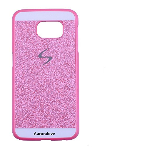 Aurora® samsung s6 Case Cover 3D Sweet Cute Bling Diamond Phone Case Cover For samsung s6(samsung s6, Pink)